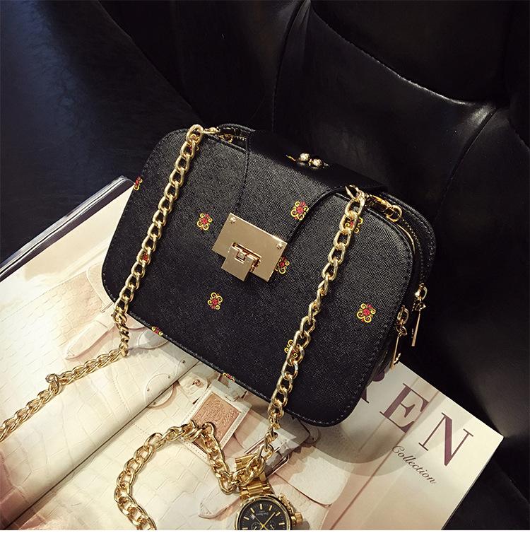 54ee1d925f8 ... lasen bag 2017 New Fashion Women Handbags Leather Shoulder Bag Retro  Messenger Small Chain Crossbody Bag ...