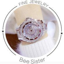 Женские наручные часы с кристаллами, элегантные кварцевые часы с кристаллами, 2018, 2020(Китай)