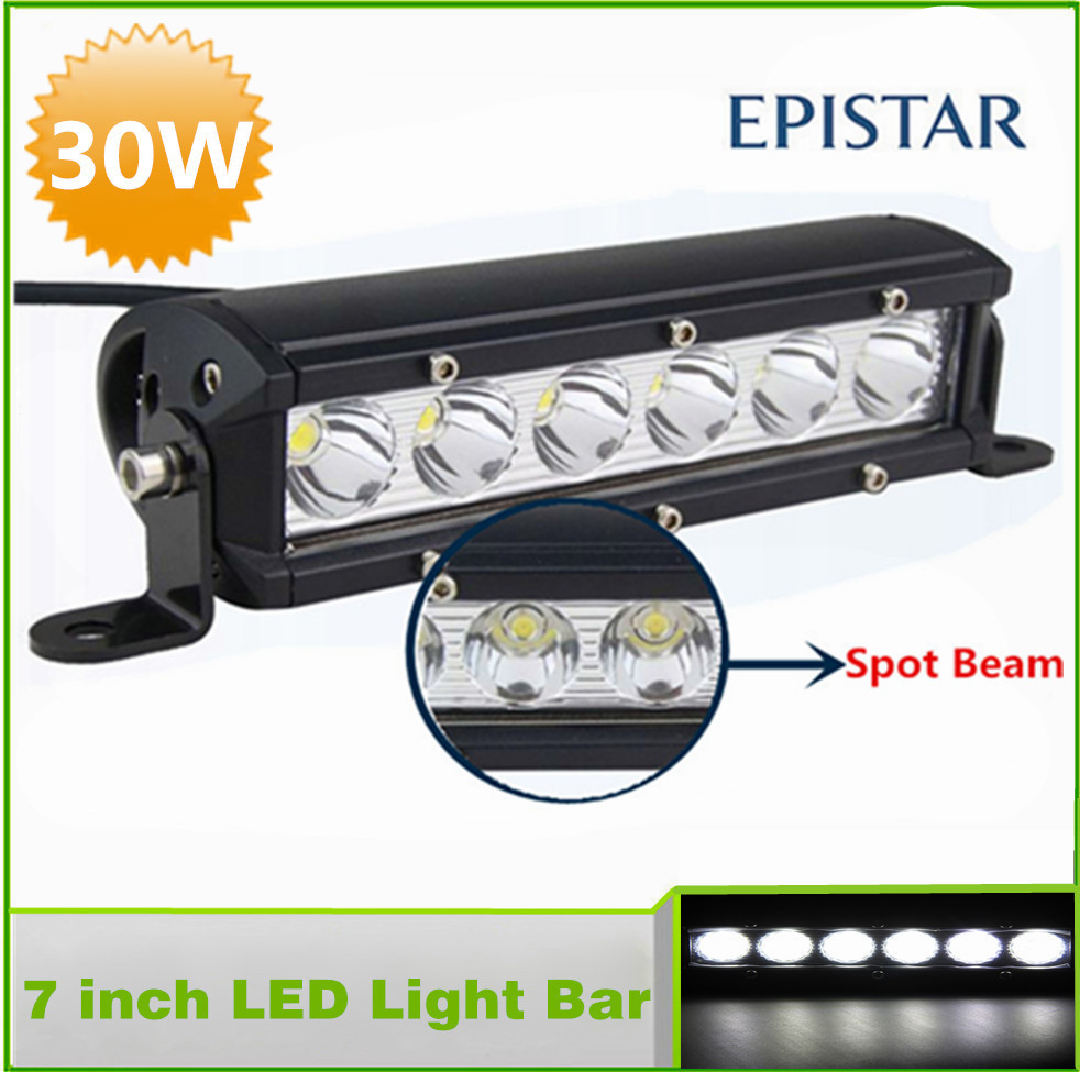 4wd Accessories Led Light Bar For Car Spot Beam White 7