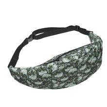 TTOU новая популярная женская сумка на молнии с 3D-принтом, поясная сумка, поясная сумка, повседневная дорожная сумка для мужчин, женская сумка(Китай)