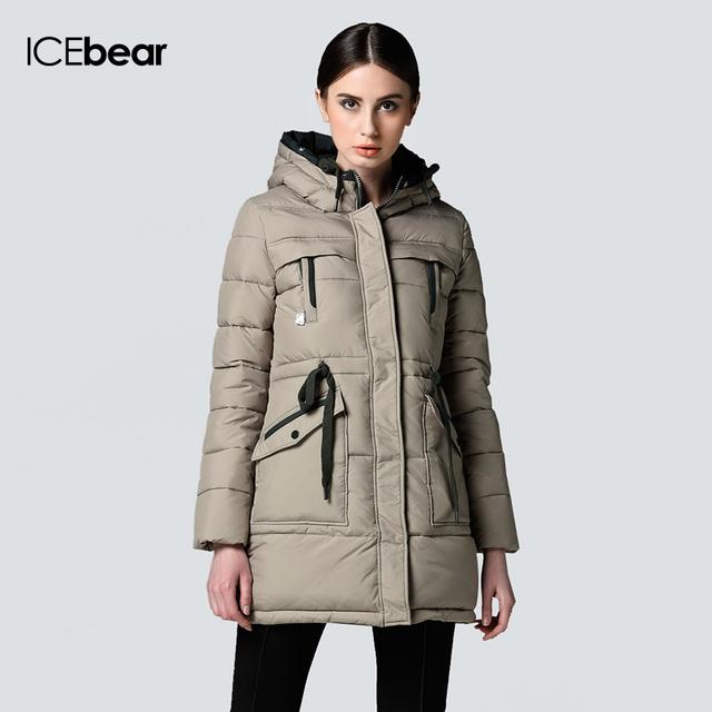 8e8f17f70df ICEbear долгой зимы Марка Мода Одежда 2015 Куртки и девочек плюс размер  женщин Модные Куртка Вниз