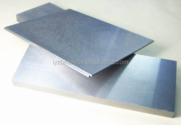 Высокоплавистый металл серебристо-серый вольфрамовый лист