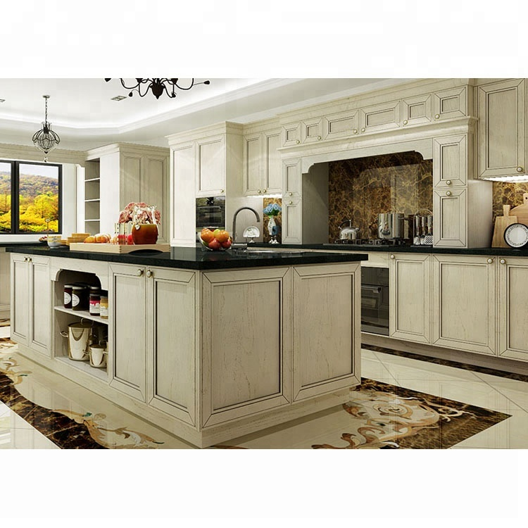 Wholesale Manufacture Cheap Price Foshan Solid Wood Kitchen Cabinets View Kitchen Cabinet Alland Product Details From Alland Building Materials Shenzhen Co Ltd On Alibaba Com