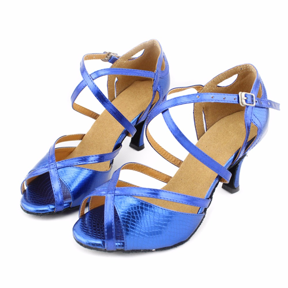 Blue Salsa Shoes