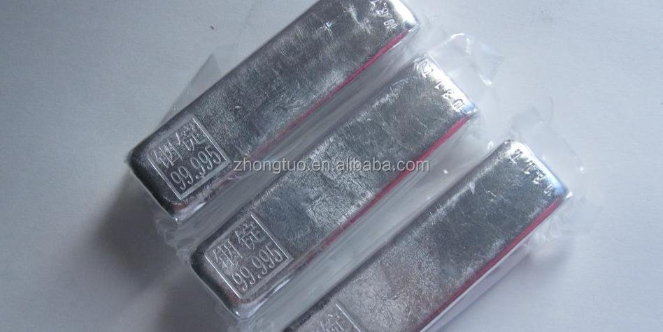 2021 factory hot on sale high purity Indium Ingot 99.995% 4n5