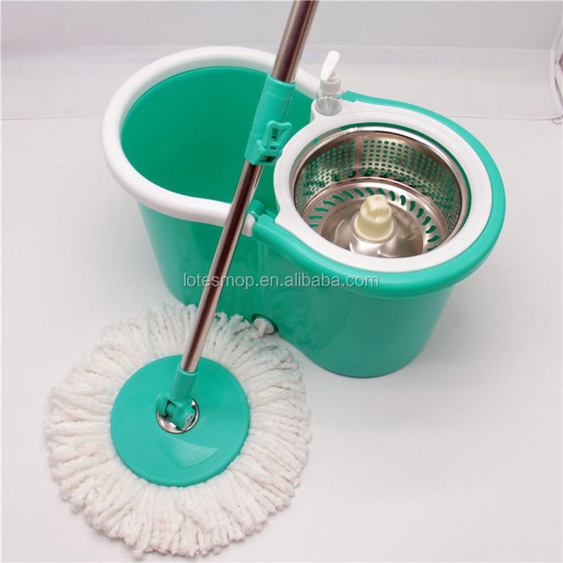 big size bucket spinning mop