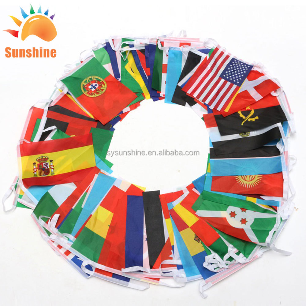 Набор веревочных флагов, набор веревочных флагов для декора