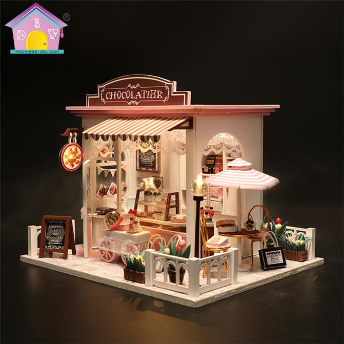 Wholesale Diy Wood Dollhouse Miniature Doll House Furniture Cheap, Furniture Miniatures