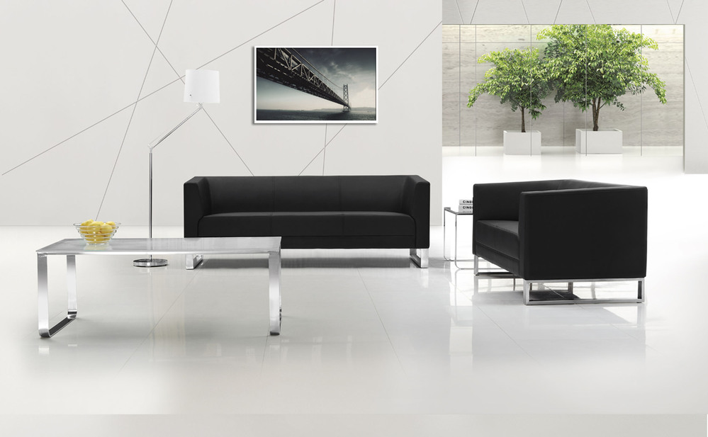 Modern Office Lobby Sofa Furniture For Small Spaces (cf