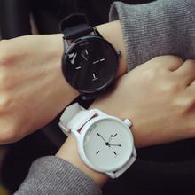Clássico Preto e Branco Amantes Da Geléia de Silicone Relógio de Quartzo Mulheres Marca de Relógios Relógio Ocasional Relogio feminino 2016 Mulheres Relógio