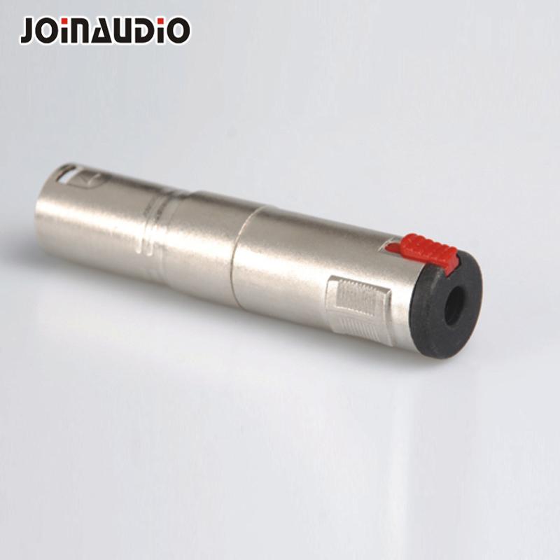 Стерео паяльный переходник 6,35 мм с черным гнездом для блокировки 1/4