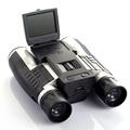 12x32 HD Black Binoculars Telescope Folding with Built in Digital Camera 2 0 LTPS 4 3