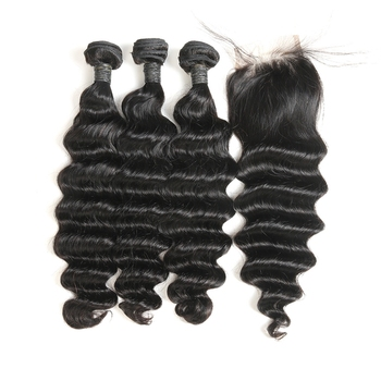 Wholesale 100% Unprocessed Peruvian Human Virgin Hair Extensions Hair Bundle Cuticle Aligned Raw Virgin Human Hair
