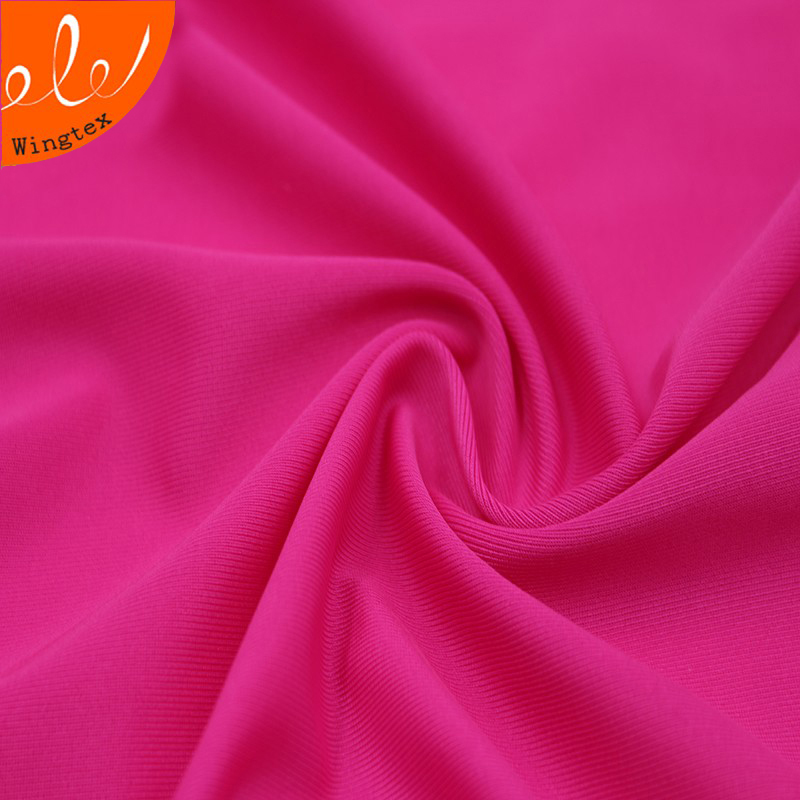 China manufacturer 86 polyester 14 spandex lycra tan through men ankara swimwear fabric, repreve polyster elastane (microsolv)