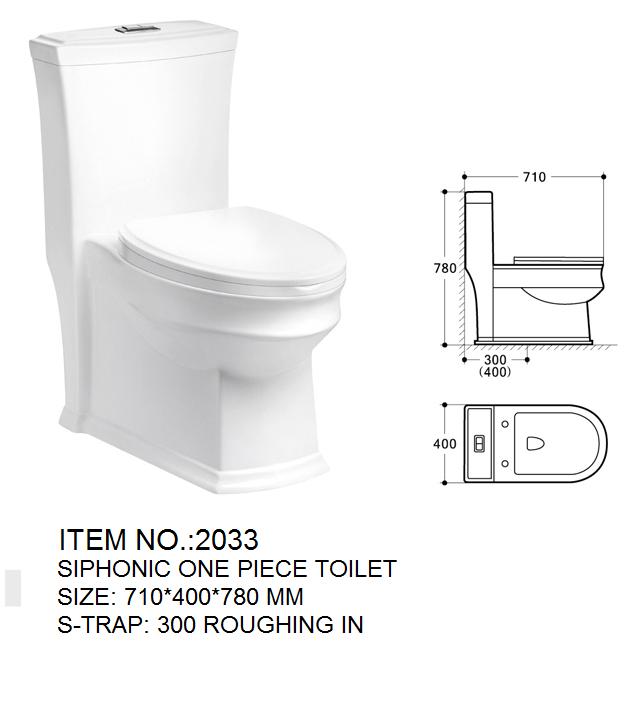Floor Mount Toilet Bowl