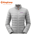 KingCamp Women s Winter Outdoor Front zip Packable Quilted down Puffer Jacket and Standing Collar Ultralight