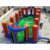 hot selling Carnival Basketball Game inflatable soap football field volleyball game basketball court for sale