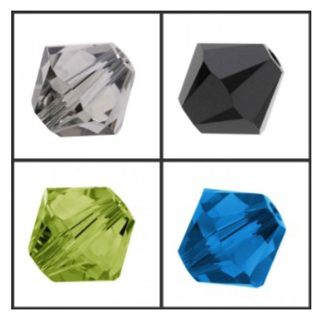 Оригинальные K9 хрустальные биконовые бусины стеклянные бусины с различными цветами для высококачественных поставщиков ювелирных изделий