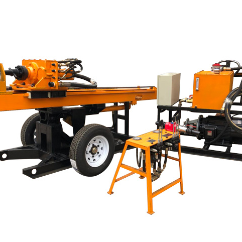 ABT MG90 Bolter Hydraulic Multi-function DTH Drill Rig for Ground Engineering Bolting Rig Drill