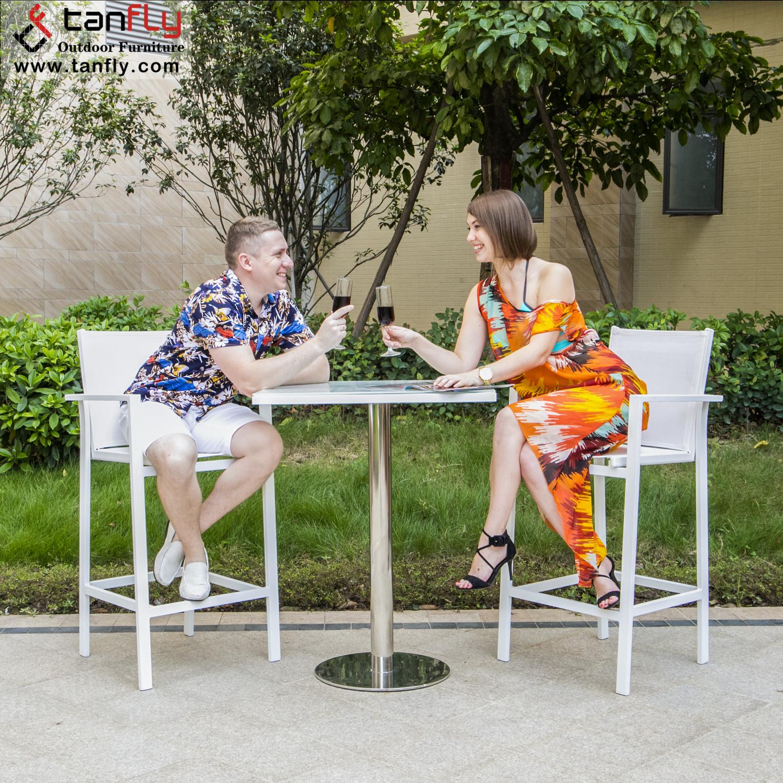 Современный барный стул, высокий стул с подставкой для ног, уличные барные стулья и барные столы, набор мебели