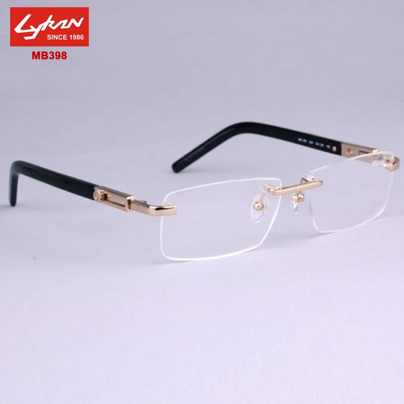 3aaeee9a634 Are Rimless Glasses Fashionable. 2018 Fashion Titanium Rimless Eyeglasses  Frame Men Glasses – cutiemk