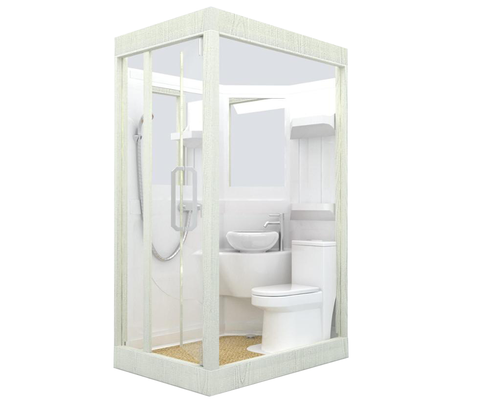 An1014 Prefab Camping Caravan Modular Bathroom Toilet Unit Shower Pod - Buy  Bathroom Pods,Modular Bathroom Toilet Pod,Prefab Camping Bathroon Shower  Pod Product on Alibaba.com