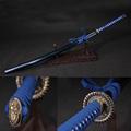katana samurai japanese sword 60si2mn Elastic Steel Alloy fittings Furniture decoration Tactical training Removable