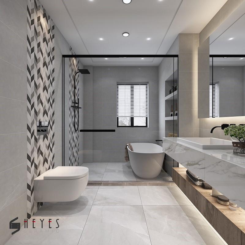 12x24 Splice Glazed Porcelain Kitchen And Bathroom Tiles Buy Bathroom Tile Glazed Porcelain Tile Kitchen Tile Product On Alibaba Com