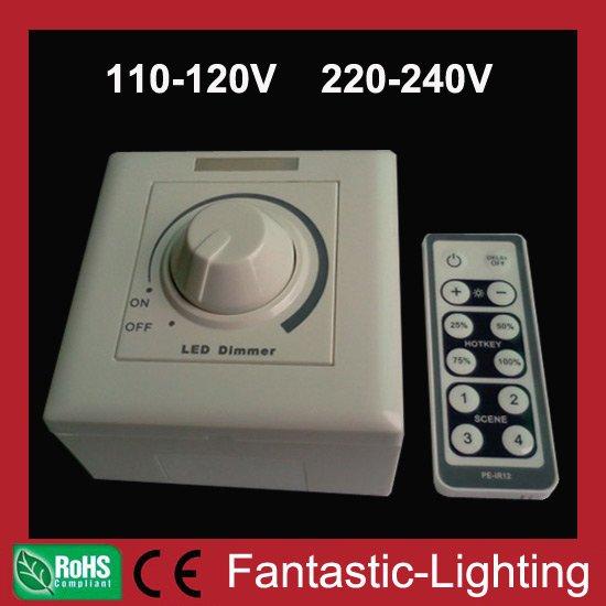led dimmer controller 110v 220v 230v 240v led high voltage 86 panel dimmer high quality 2 years. Black Bedroom Furniture Sets. Home Design Ideas