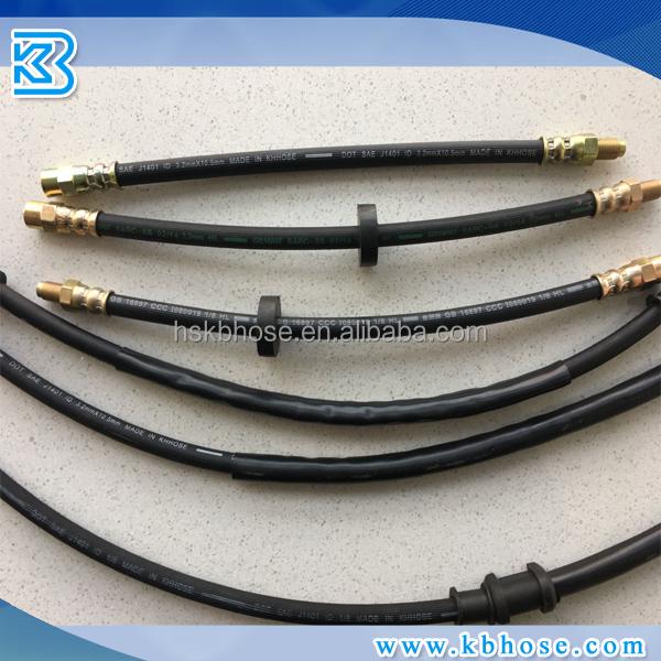 standard Manufacturer high quality Brake hydraulic rubber hose/Rubber Air brake hose/Hydraulic brake hose 1/8