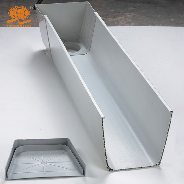 PVC rainwater pipe /downspout filter/rainwater pipe and gutter