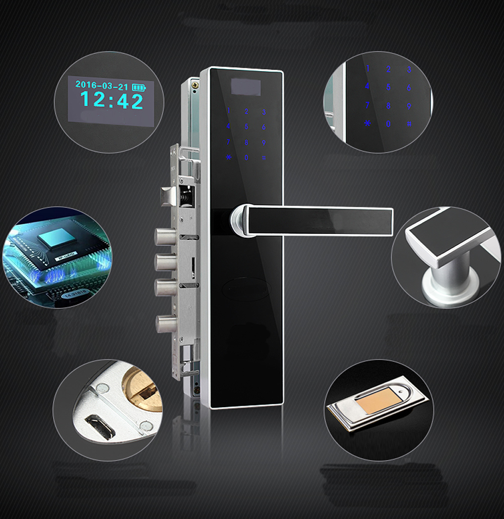 Ospon Os008c Digital Touchscreen Code Door Lock