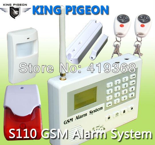 Купить Датчики, Сигнализации King Pigeon Forsmoke , Alarme Casa Alarme S110
