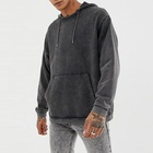 2020 Good Quality Washed Vintage Terry Sweatshirt Men Heavy Hoodie Cotton