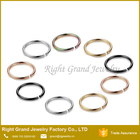 Ring Piercing Steel Nose Ring 316L Surgical Seamless Nose Ring Wholesale Free Sample Fake Nose Piercing