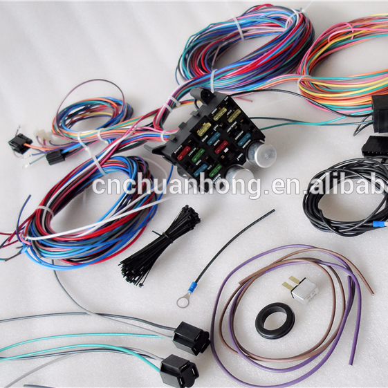 cnch new kit chassis wire harness for jeep cj7 cj5 1976-1983 - buy wiring  harness,automobile cylinder wire harness,car and truck ignition wires  product on alibaba.com  alibaba.com