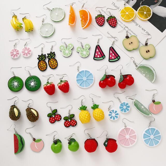 Fruit Earrings