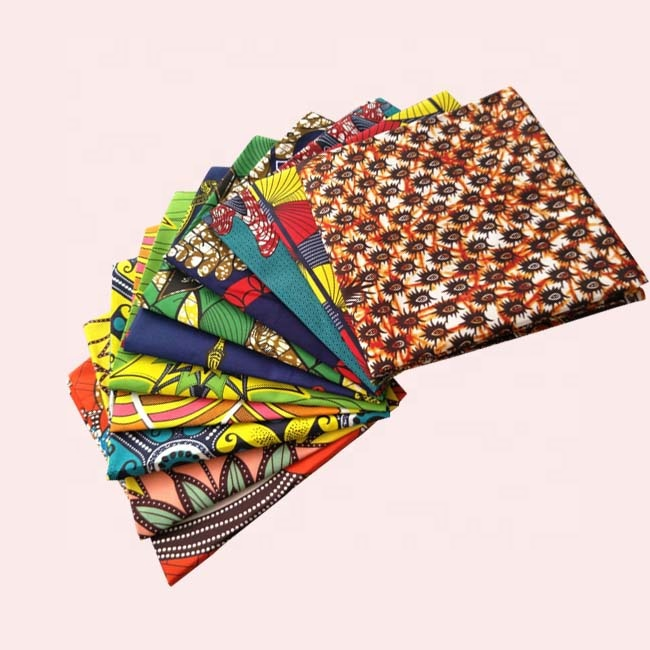 hot sale polyester african print fabric