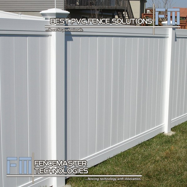 Fencemaster Cheap White Vinyl Full Privacy Fence Buy