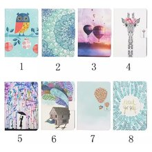 For Samsung Galaxy Tab A 9.7 Case, Ultra Slim Smart Cover Stand Cartoon Leather Case For Samsung Galaxy Tab A SM-T550 Tablet