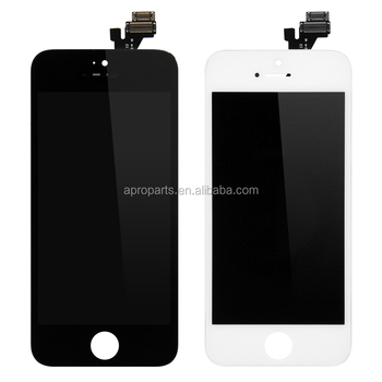 4.0 inches High AA++++ quality For iPhone 5 5S 5C LCD Display Touch Digitizer Full Assembly Black White Color LCD Screen