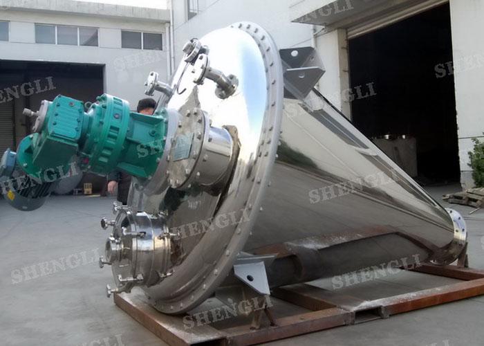 Вертикальный Ленточный миксер конический винт спиральный блендер