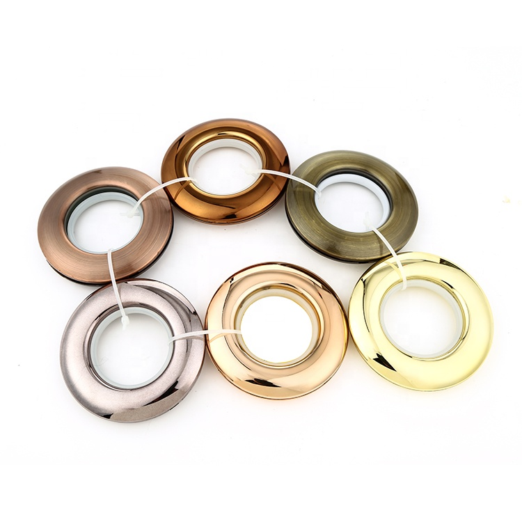 Unique Plastic Windows Curtain Accessories Curtain Eyelet Ring For Curtain Tape