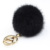 Factory Direct Sale Wholesale Promotional Bulk Accessories Pom Pom Key Chain Rabbit Fur Ball Keychain