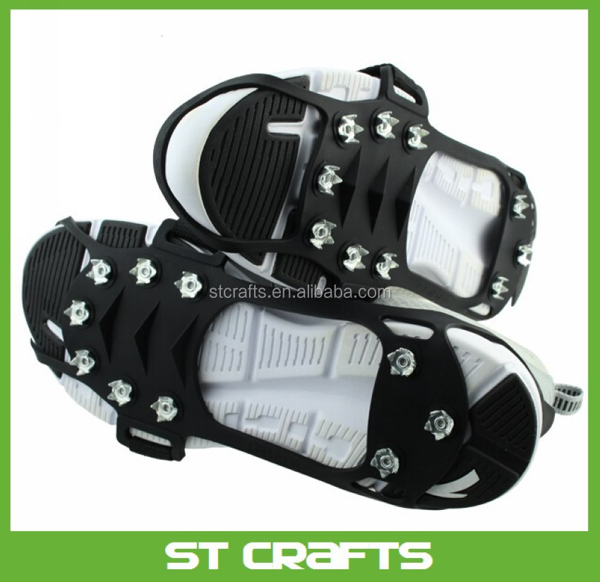 Non Slip Strap On Shoe Ice Grippers