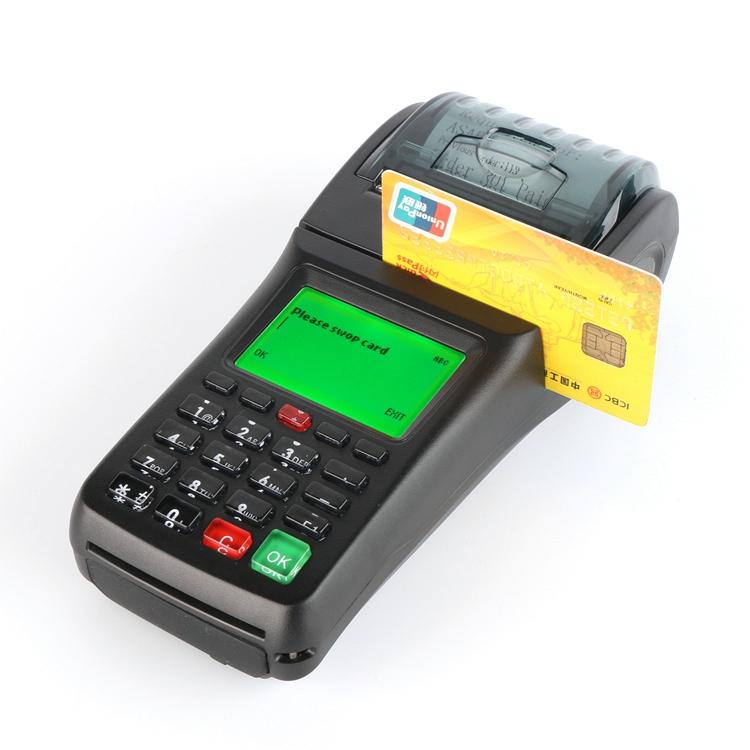 Goodcom Smart Swipe Card Card Reader Pos Machine With Printer