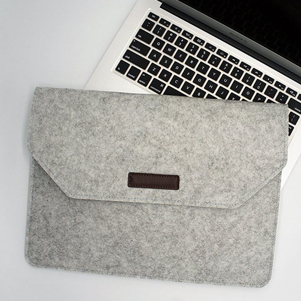 customization possible Felt sleeve for tablets and laptops from 10 to 17 inches