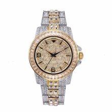 Мужские наручные часы для мужчин, Топ бренд, роскошные часы, мужские ролевые часы, полностью бриллиантовые, Rolexable, кварцевые часы, relogio masculino ...(Китай)