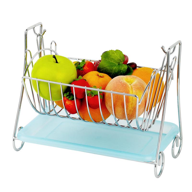 Living Room Kitchen Bathroom Cradle Rectangular Fruit