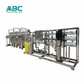 CE, ISO approved 10tph industrial chemical dosing system for borehole demineralised water treatment plant